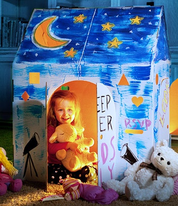 7 diy painted playhouse for kids