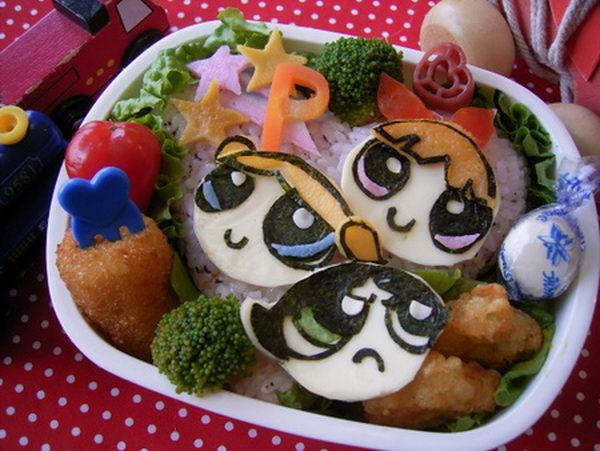 1 power puff girls lunch