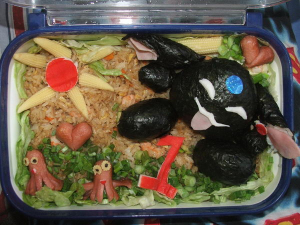 24 mokona bento box lunch