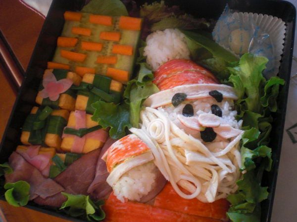 30 santa bento lunch box