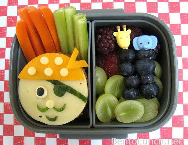 31 pirate bento box lunch