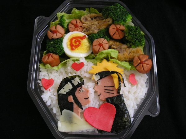 7 naruto bento lunch