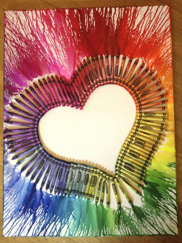 1-heart-melted-crayon-art