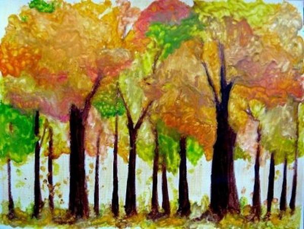 18-melted-crayon-autumn-trees