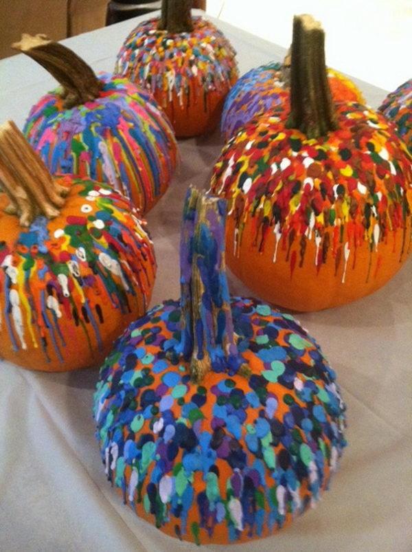 22-melted-crayon-pumpkin-fun