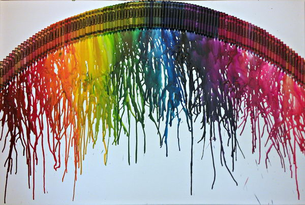 32-rainbow-melted-crayon-art