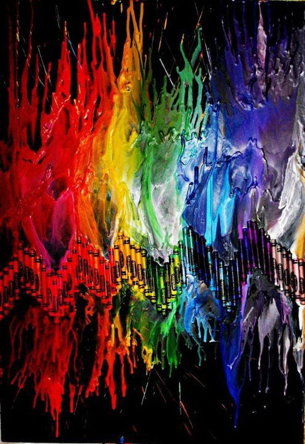 8-rainbow-melted-crayon-art