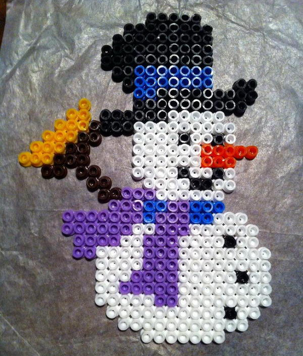 1-diy-snowman-perler-beads