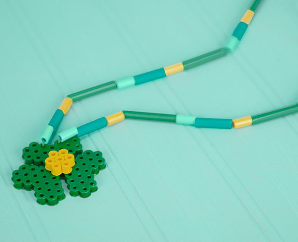 14 shamrock necklace