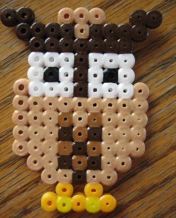 31 owl perler beads
