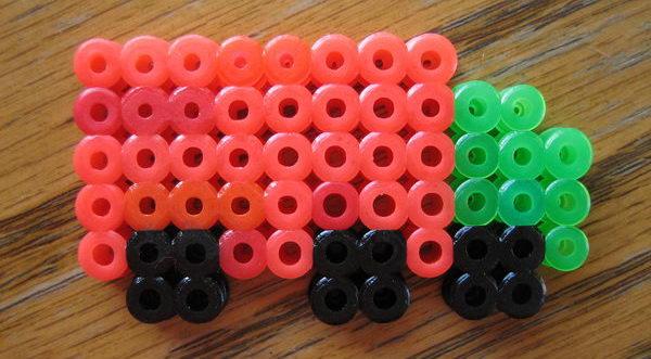 36 truck perler beads