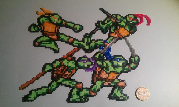 4 homemade ninja turtles