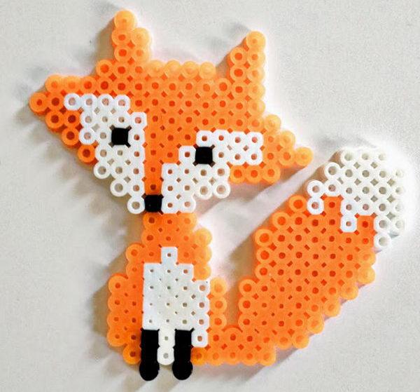 43-fox-perler-beads