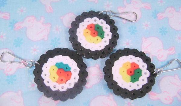 45 sushi perler beads