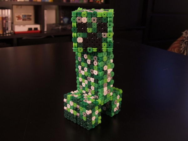 5-3d-perler-bead-minecraft-creeper