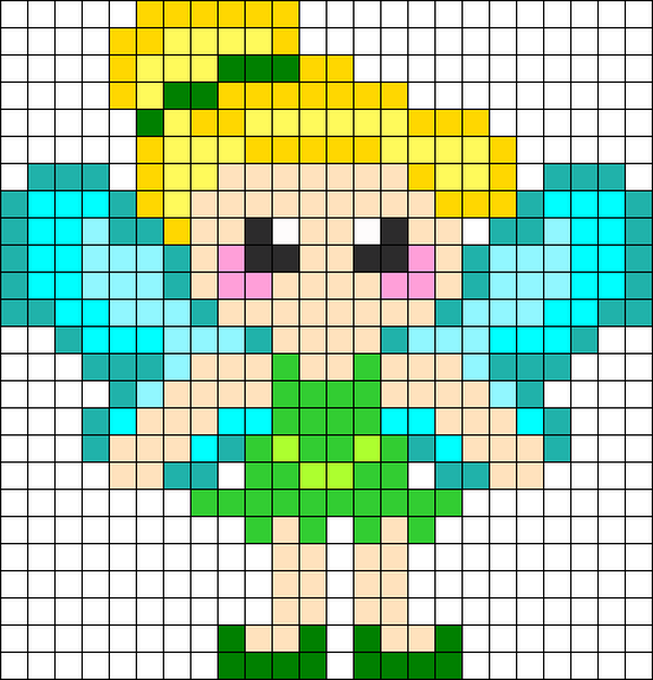 10 tinkerbell beads patterns