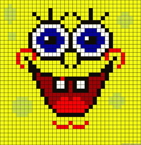 14 spongebob patterns
