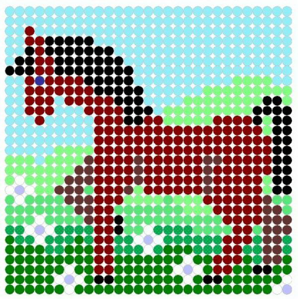 15 horse perler beads patterns