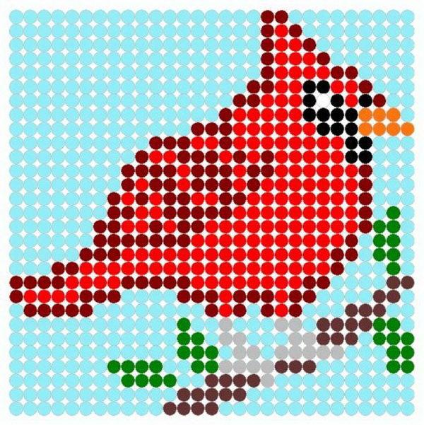 23-red-bird-beads-patterns