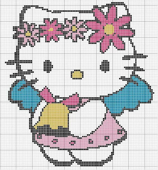 3 hello kitty patterns