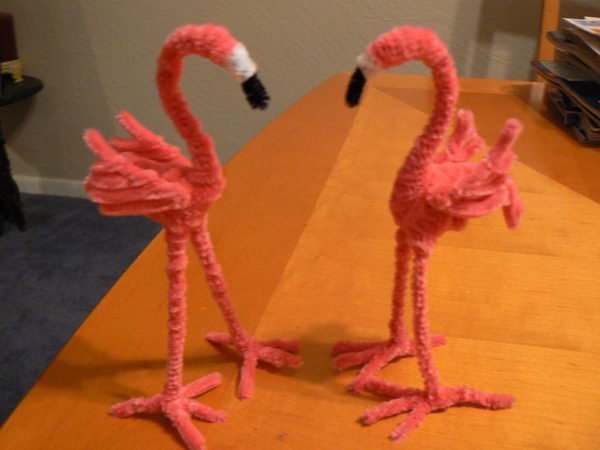 13-pipe-cleaner-flamingos