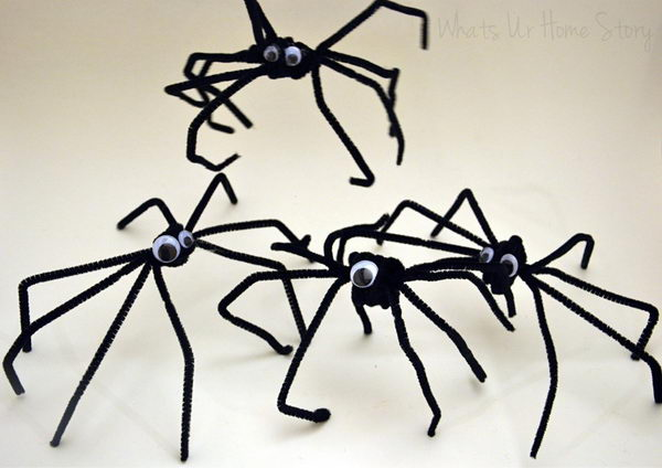 19-pipe-cleaner-spiders
