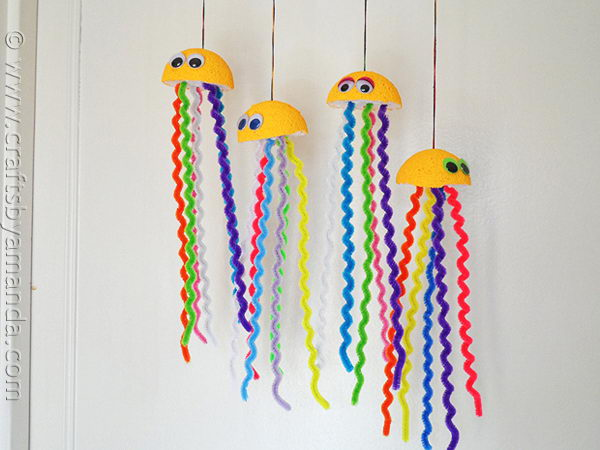 27 rainbow jellyfish crafts