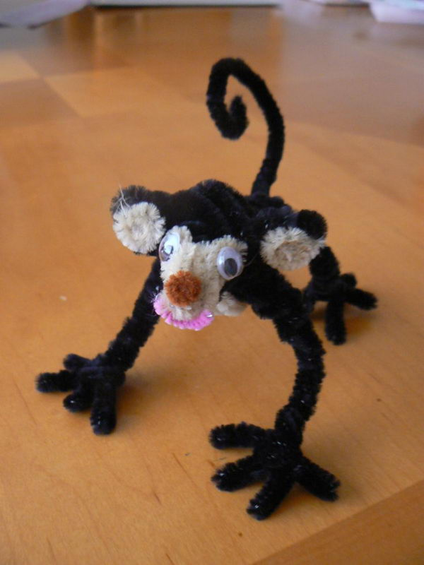40 pipe cleaner monkey