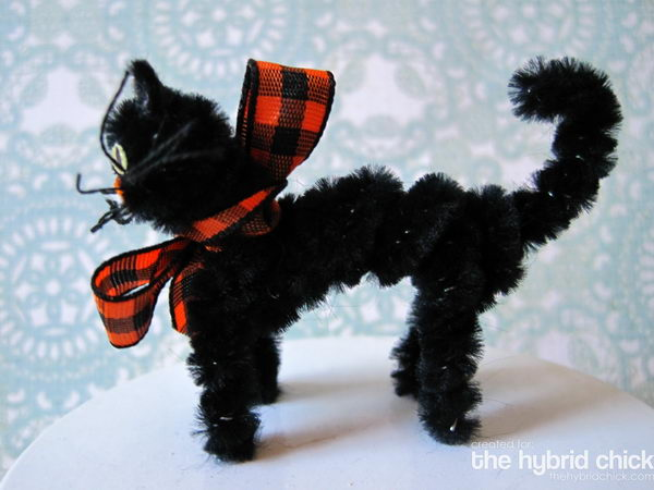 50 homemade black cat