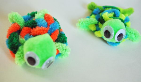 9-pipe-cleaner-turtles