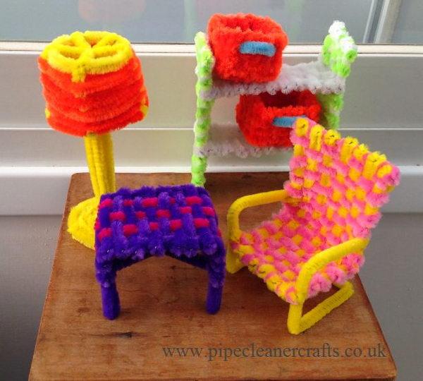 12-furniture-pip-cleaner-crafts
