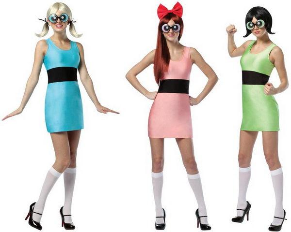 5 powerpuff girls costumes