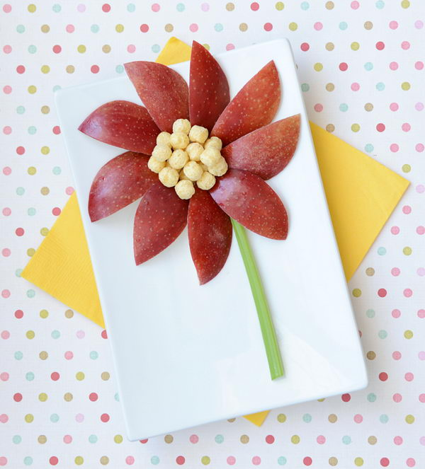 Flower Snack Edible Arrangment,