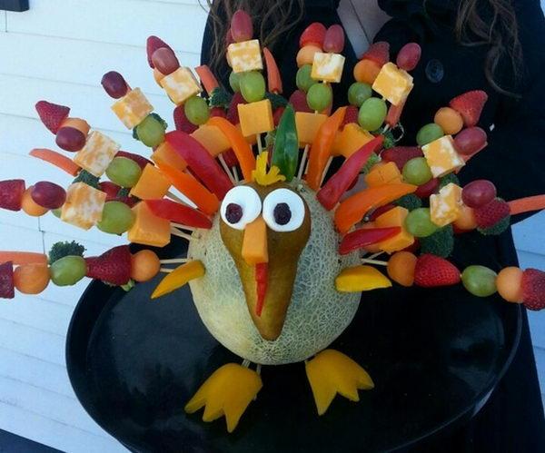 Thanksgiving Edible Arrangement,