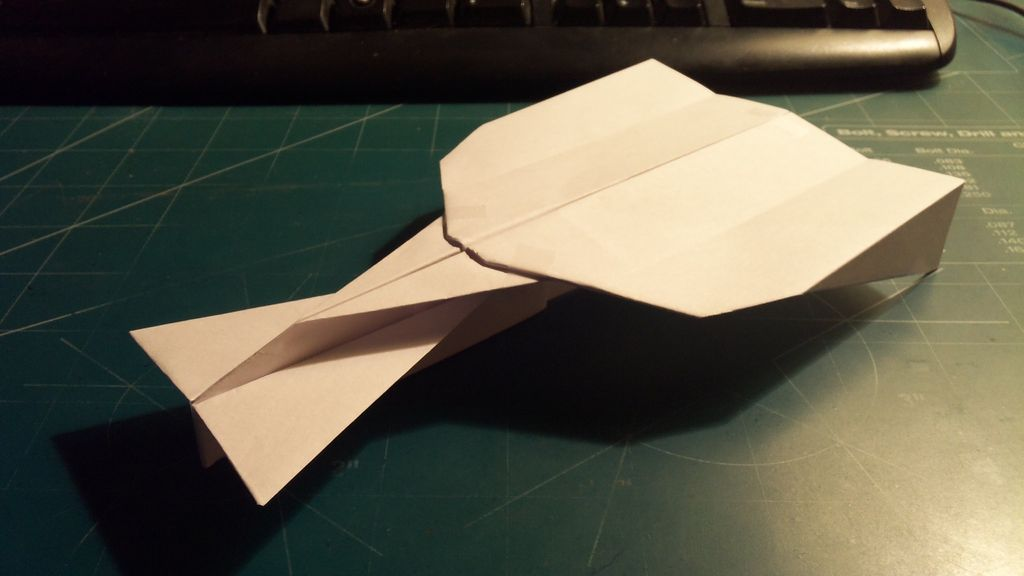 Super StratoVulcan Paper Airplane,