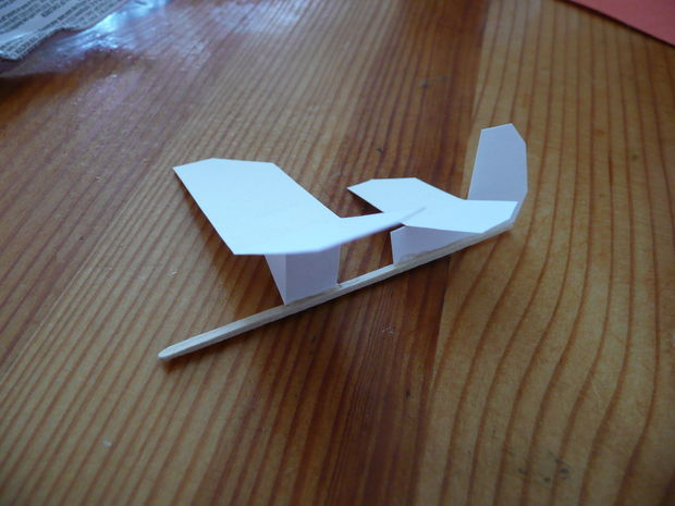 Simple Micro Toothpick Glider,