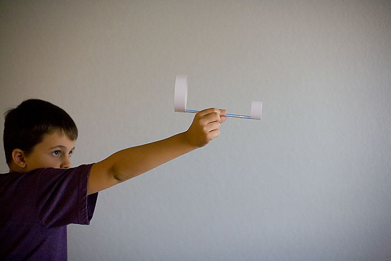 Double O Paper Airplane,