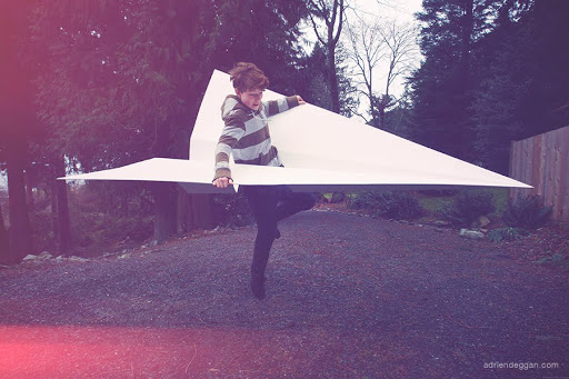 Giant Paper Airplane,