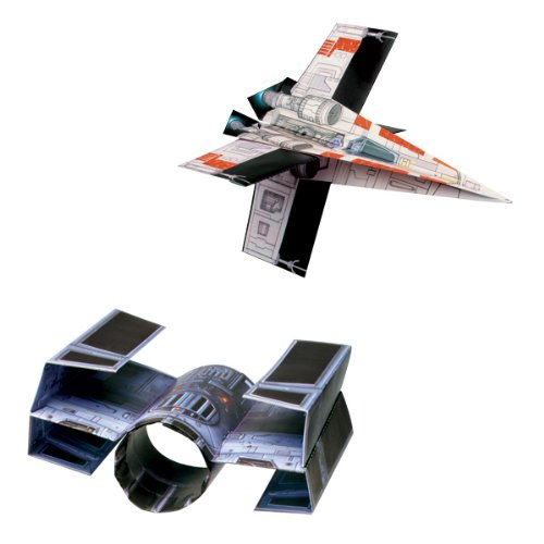 Star Wars Folded Flyers Paper Airplanes,
