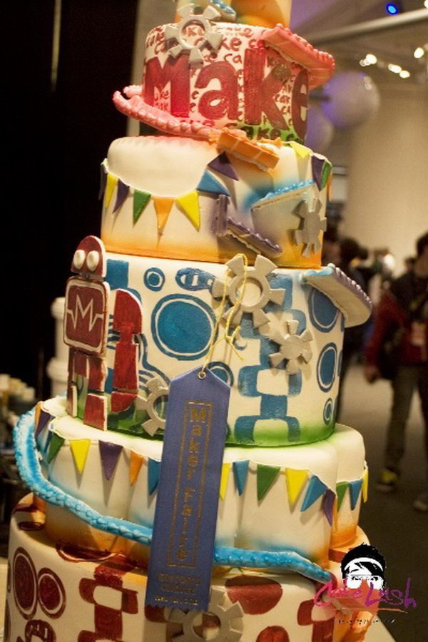 Rube Goldberg Cake Idea,