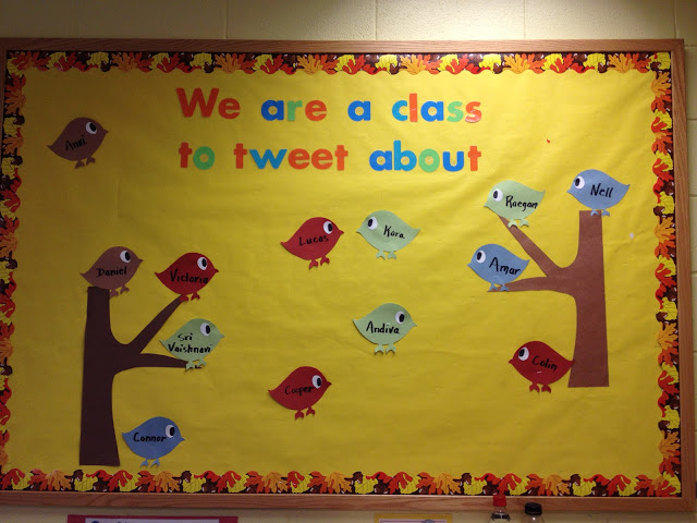 Welcome Back Bulletin Boards For Preschool. What cute bulletin boards to welcome the children to our classroom. This is a great way to display the children's names and make them feel at home.