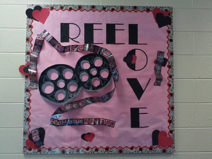 Valentine Bulletin Board.