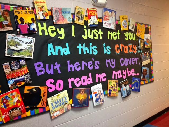 Library Bulletin Board.