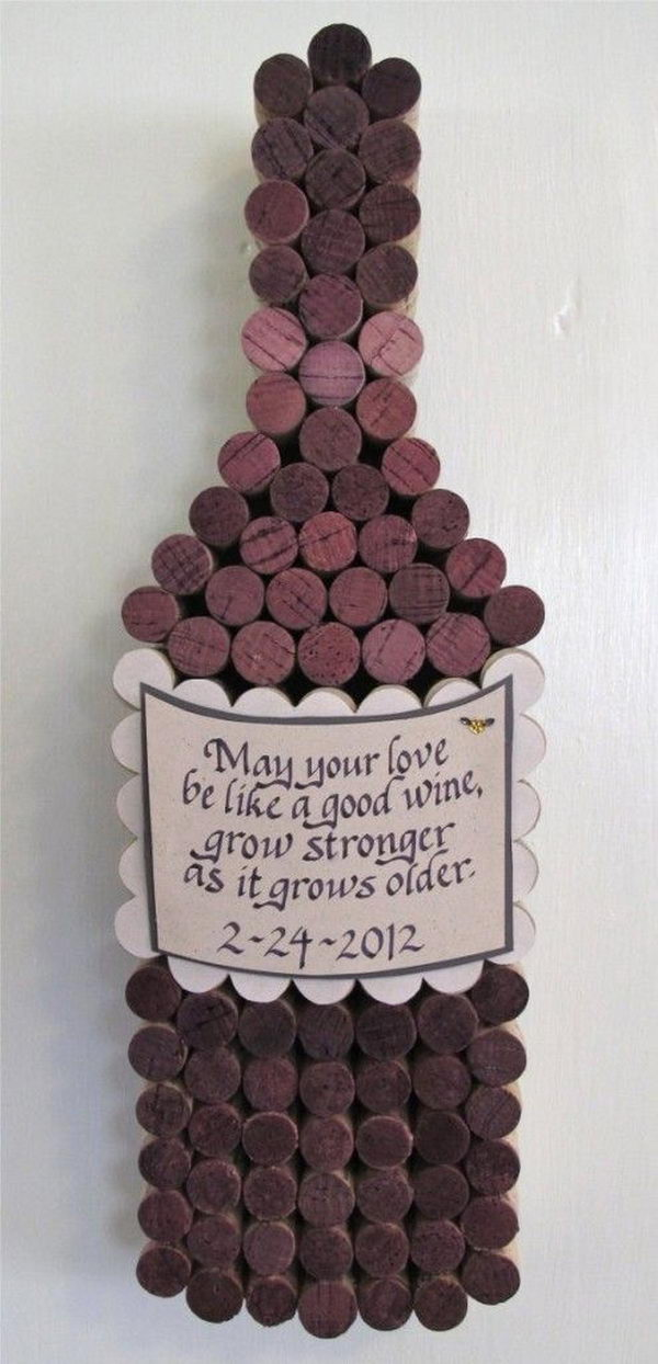 May your love be like a good wine, grow stronger as it grows older.