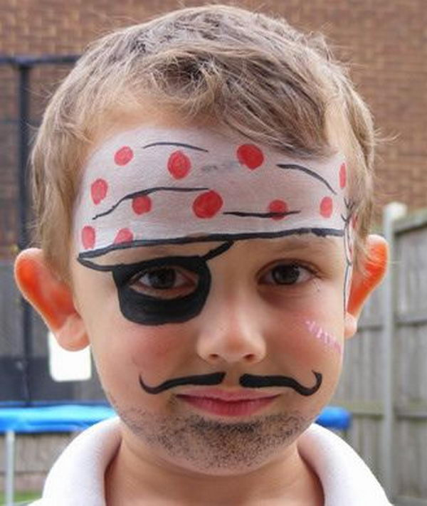 Fun Halloween Face Painting. Cool Face Painting Ideas For Kids, which transform the faces of little ones without requiring professional-quality painting skills.