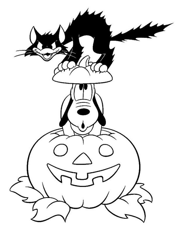 Fun Halloween Coloring Pages for Kids. They provide hours of at-home fun for kids during the holiday season.