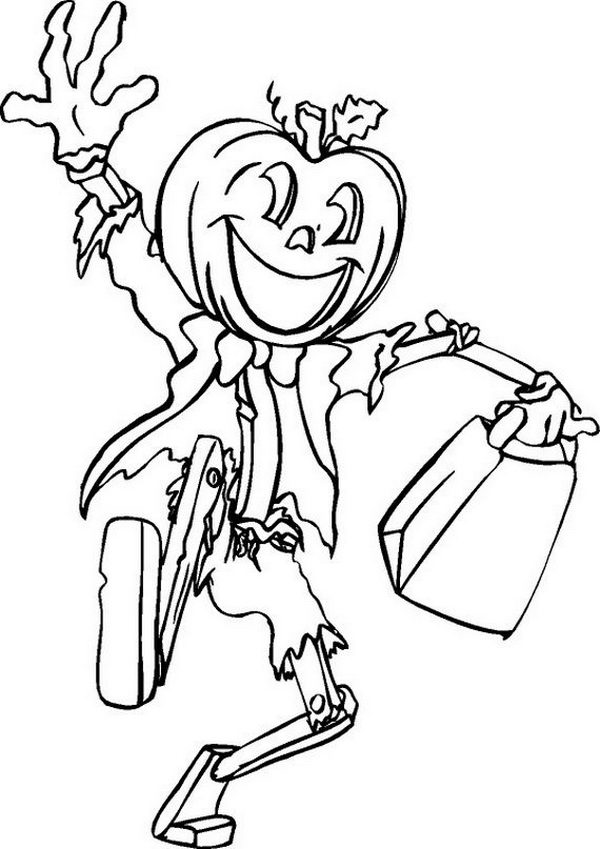 Fun Halloween Coloring Pages for Kids. They provide hours of at home fun for kids during the holiday season.