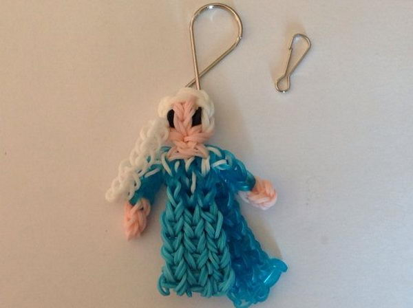 Disney Frozen Elsa. Rainbow Loom is a plastic loom used to weave colorful rubber bands into bracelets and charms. It is one of the top gifts for kids.