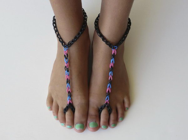 Footwear. Rainbow Loom is a plastic loom used to weave colorful rubber bands into bracelets and charms. It is one of the top gifts for kids.