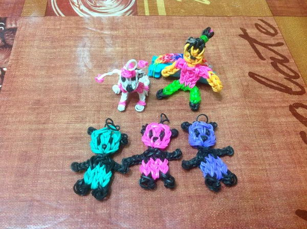 Rainbow Loom Pandas. Rainbow Loom is one of the hottest craft activities for kids.